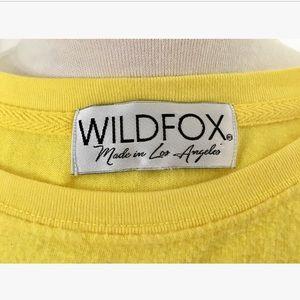 "Wildfox Sweaters - WILDFOX ""Driver Take Me Somewhere Sunny"" Sweater"